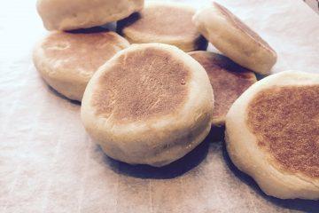 English muffins - Engelske muffins