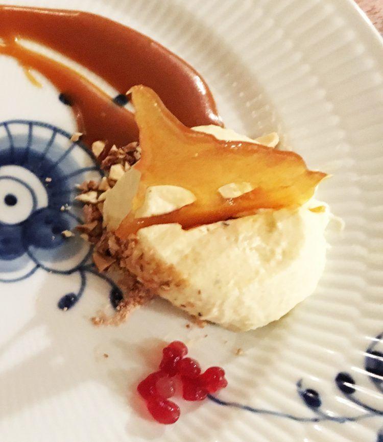 brændte mandler i dessert